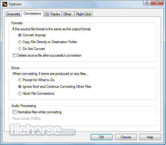Switch Sound File Converter 6.33 Captura de Pantalla 3