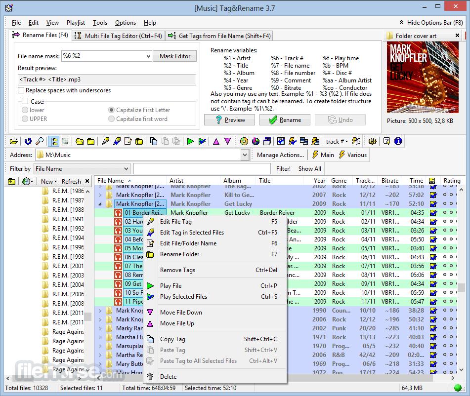 Tag&Rename 3.9.15 Screenshot 1