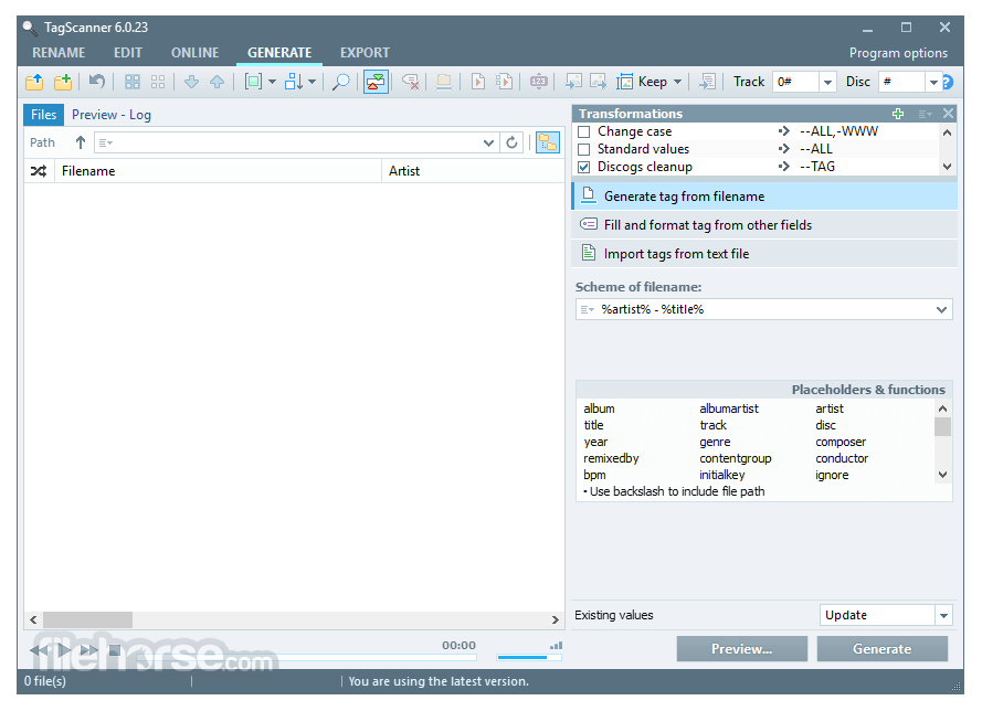 TagScanner 6.1.10 Screenshot 4