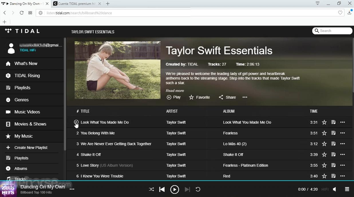 TIDAL Desktop 2.28.0 Screenshot 4