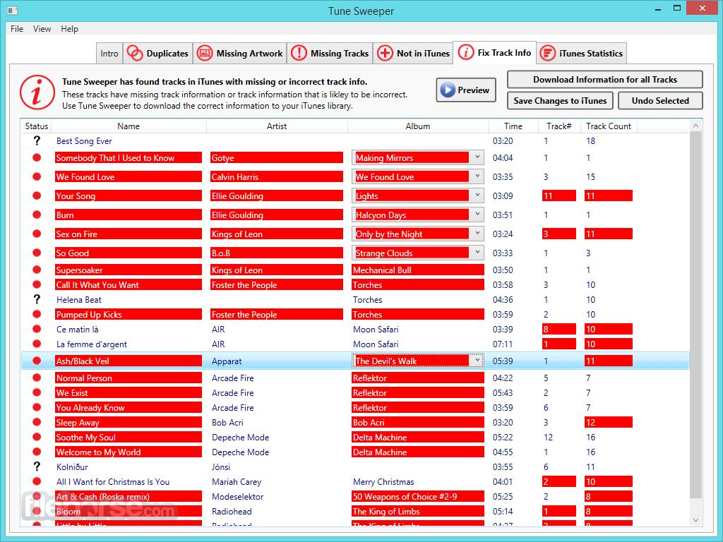 Tune Sweeper 4.41 Screenshot 4