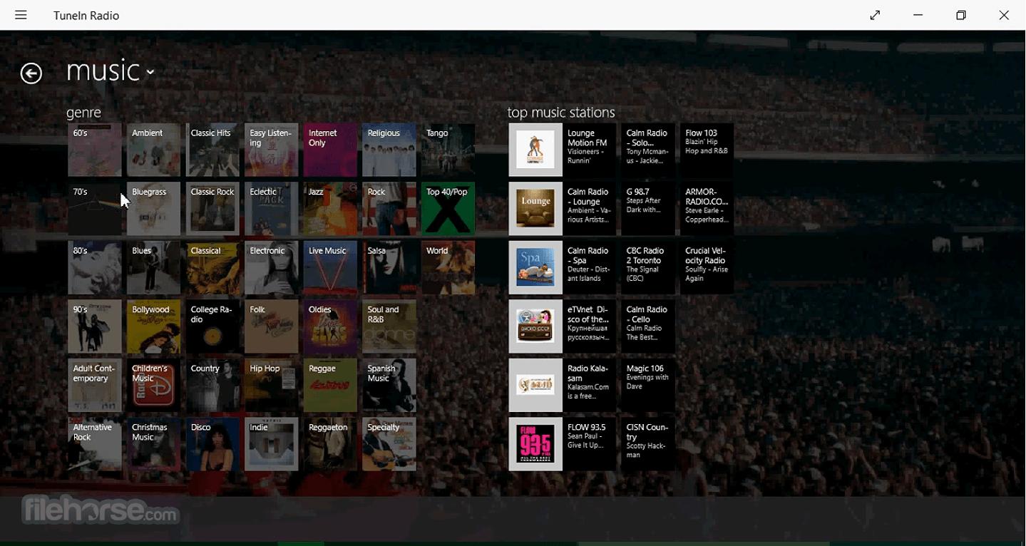 TuneIn Radio 4.0.7 Screenshot 2