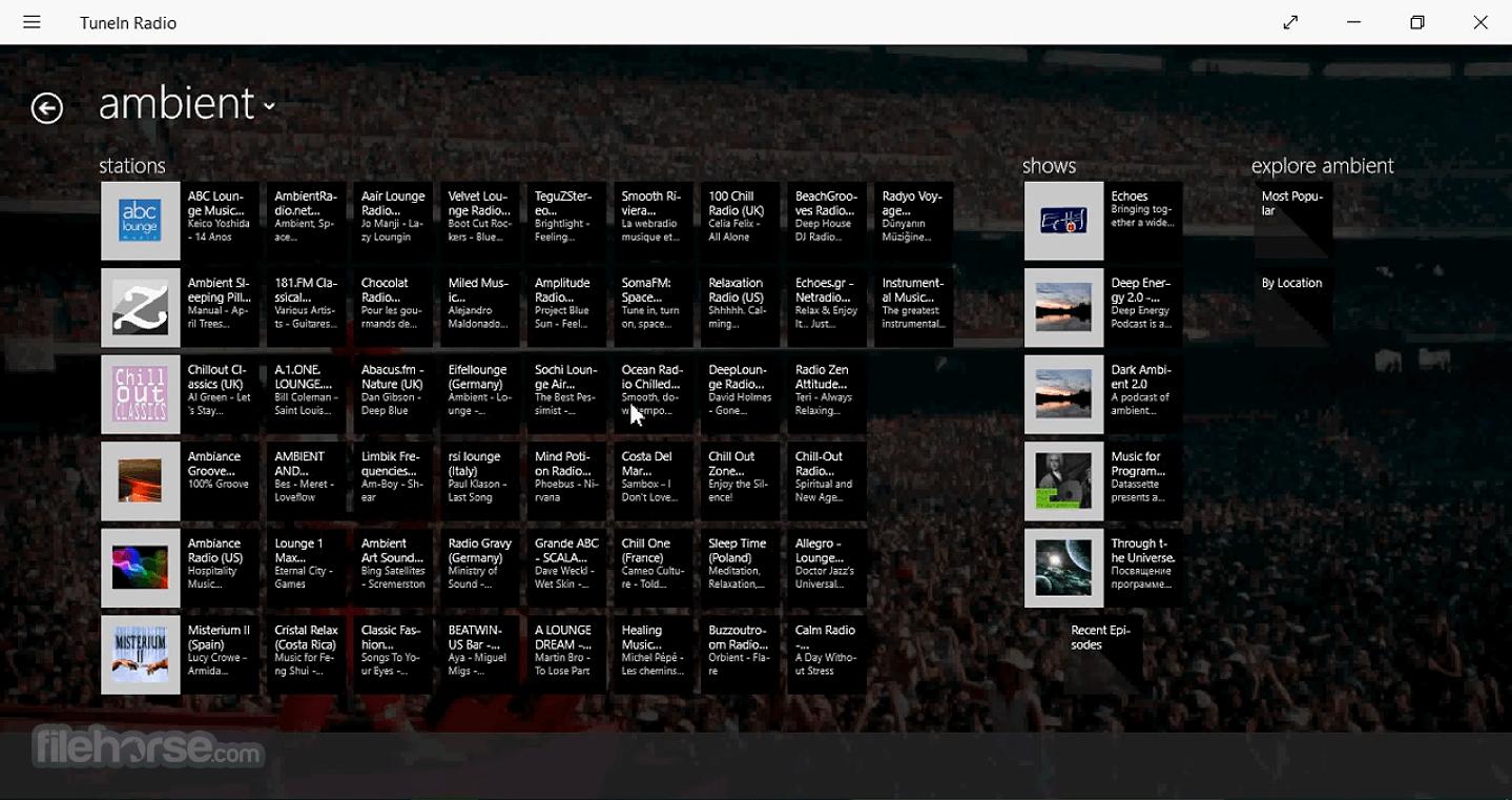 TuneIn Radio 4.0.7 Screenshot 3