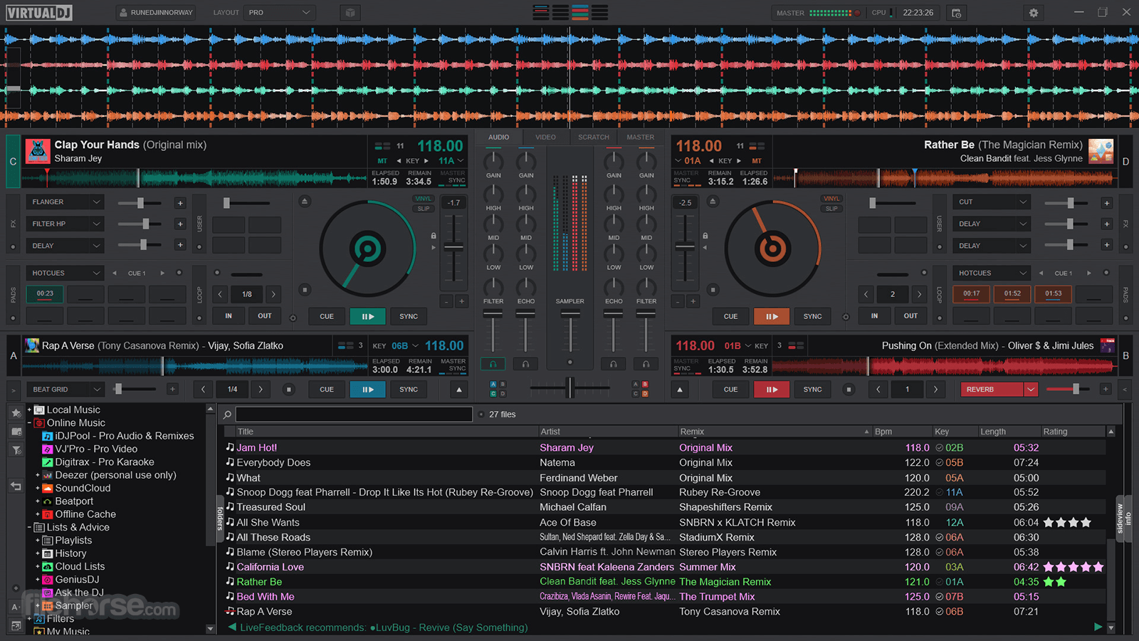 Virtual DJ 2021 Build 6334 Screenshot 1