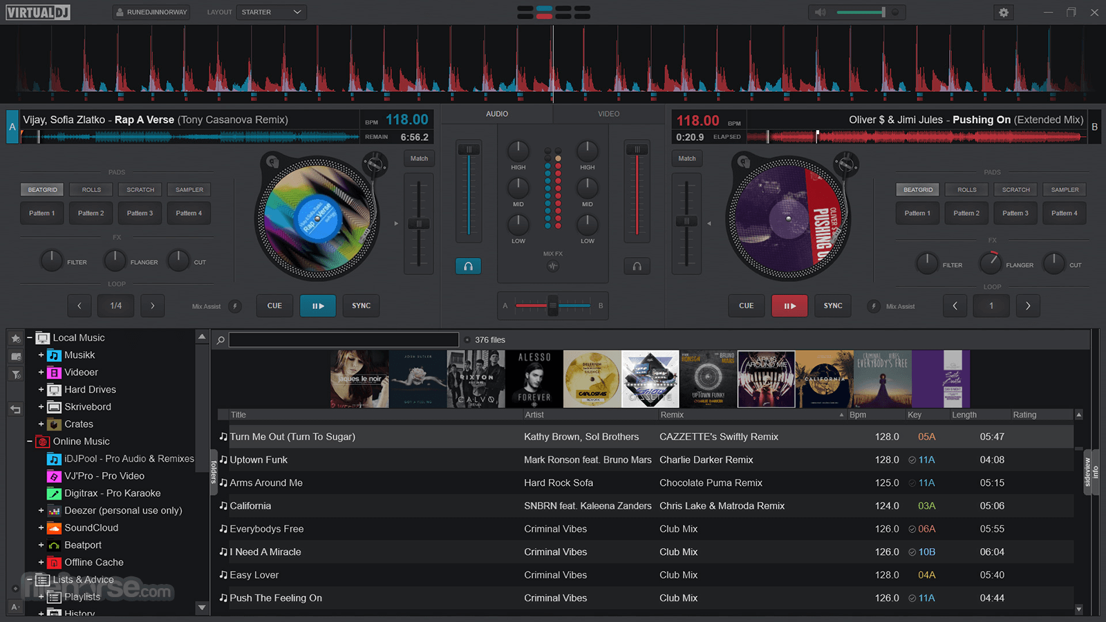 Virtual DJ 2021 Build 6334 Screenshot 2