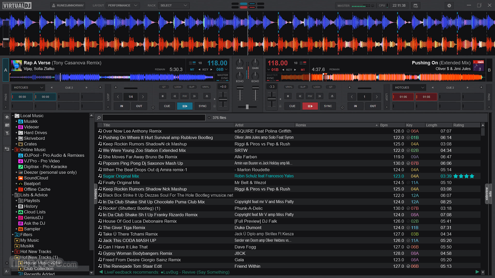 Virtual DJ 2021 Build 6334 Screenshot 5