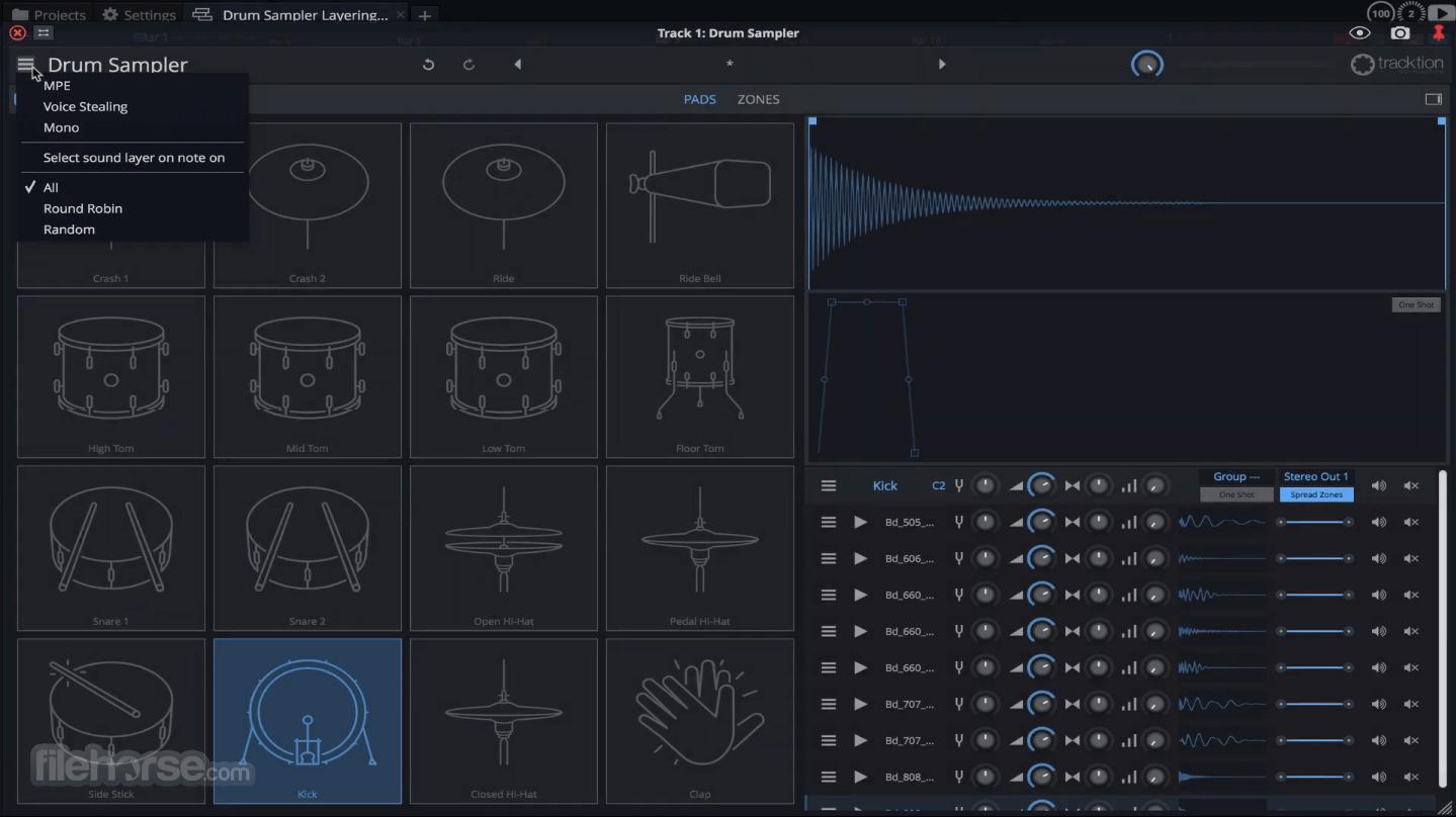 Waveform Tracktion 10.3.1 Screenshot 2