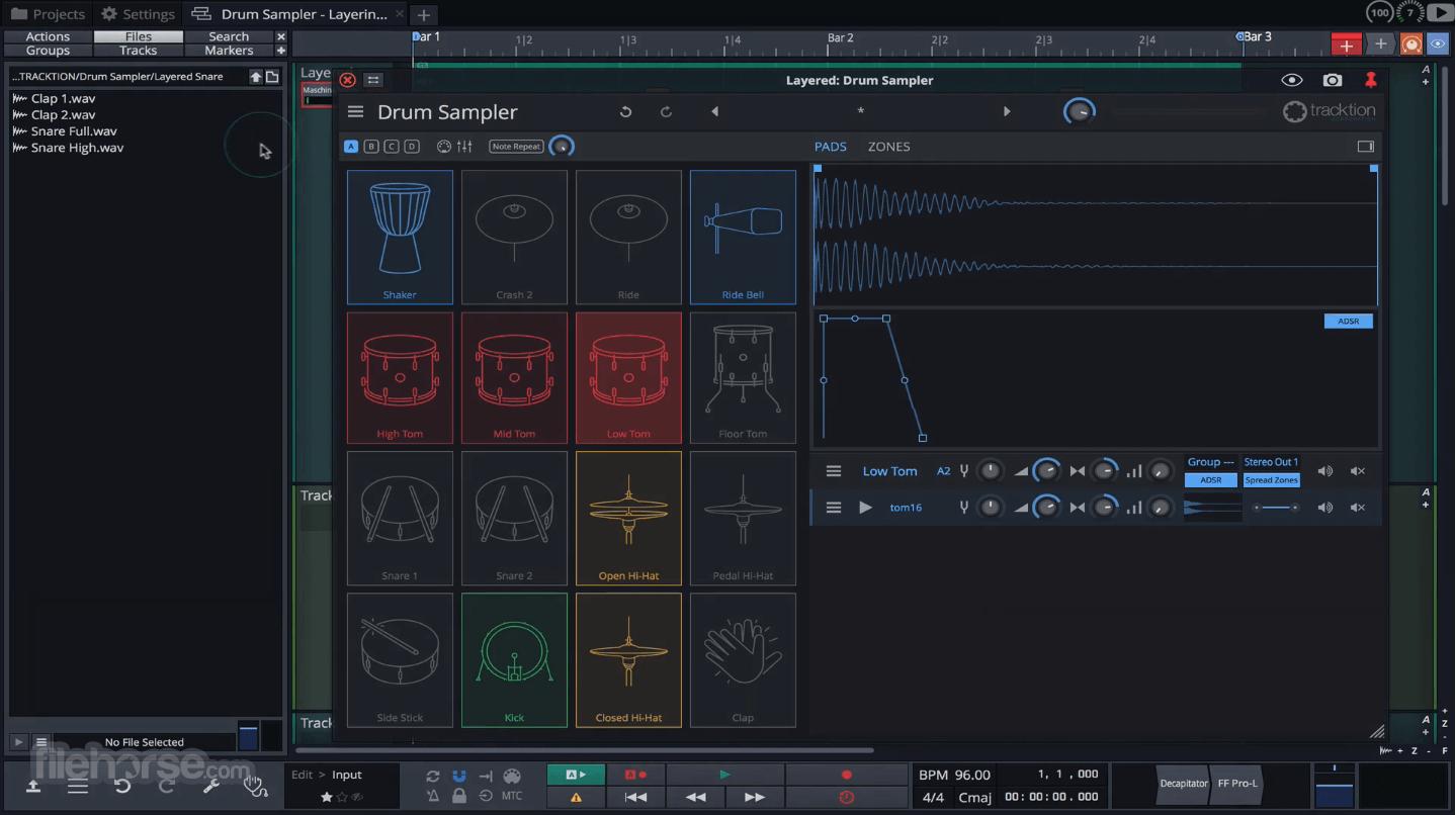 Waveform Tracktion 10.3.1 Screenshot 3
