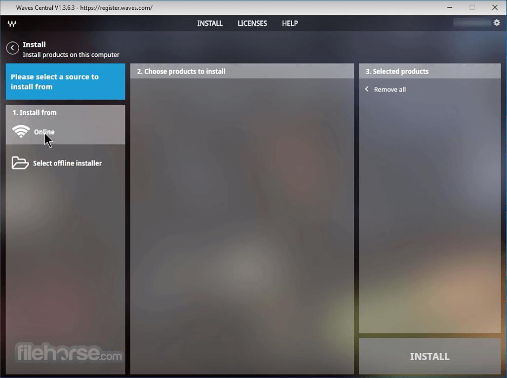 Waves Central 11.0.43 Screenshot 1
