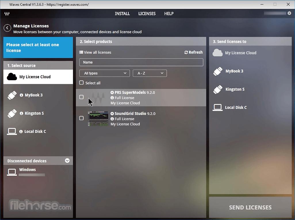 Waves Central 11.0.43 Screenshot 4