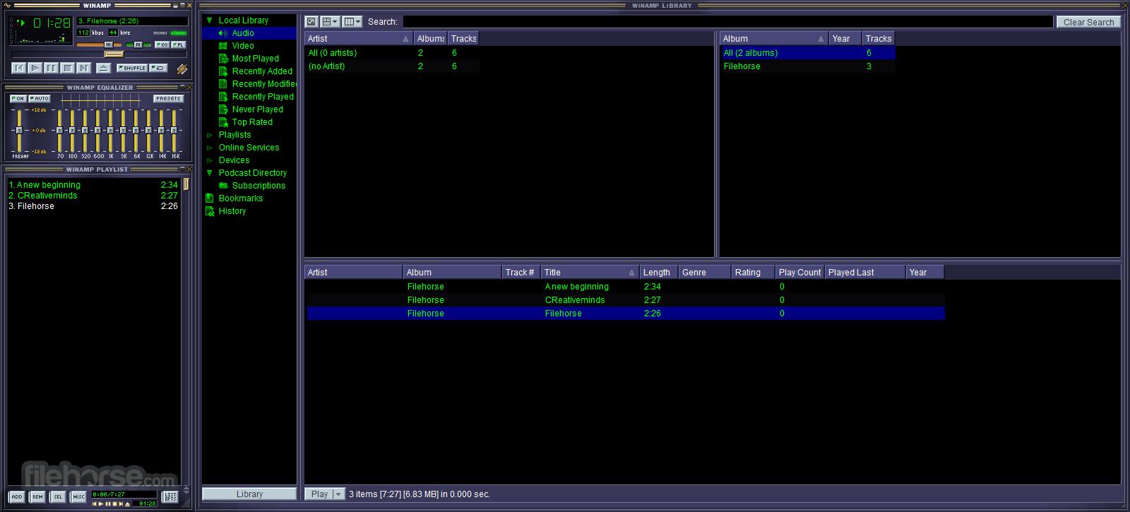 Winamp 5.666 Full Build 3516 Screenshot 3