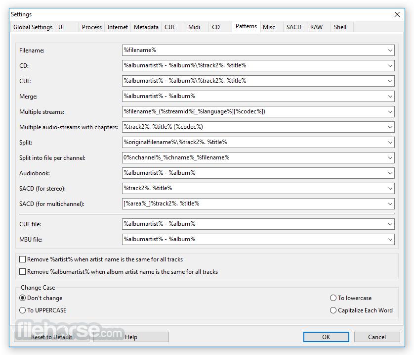 XRECODE 1.113 (32-bit) Captura de Pantalla 2