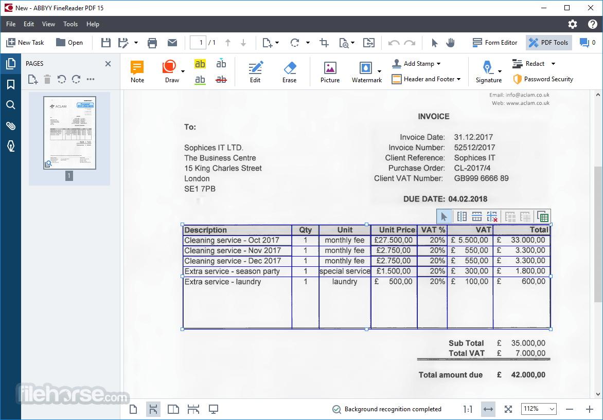 ABBYY FineReader PDF 15 Screenshot 2
