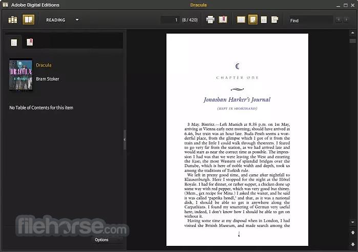 Adobe Digital Editions 4.5.7.179634 Captura de Pantalla 1
