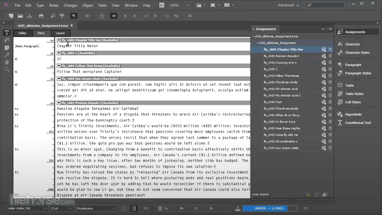 Download  Adobe InCopy for Windows free 2021