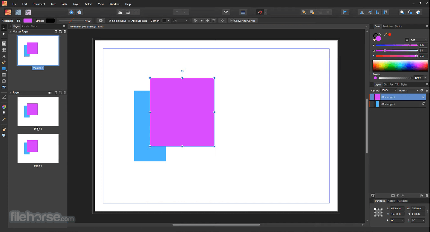 Affinity Publisher 1.7.2 Screenshot 2