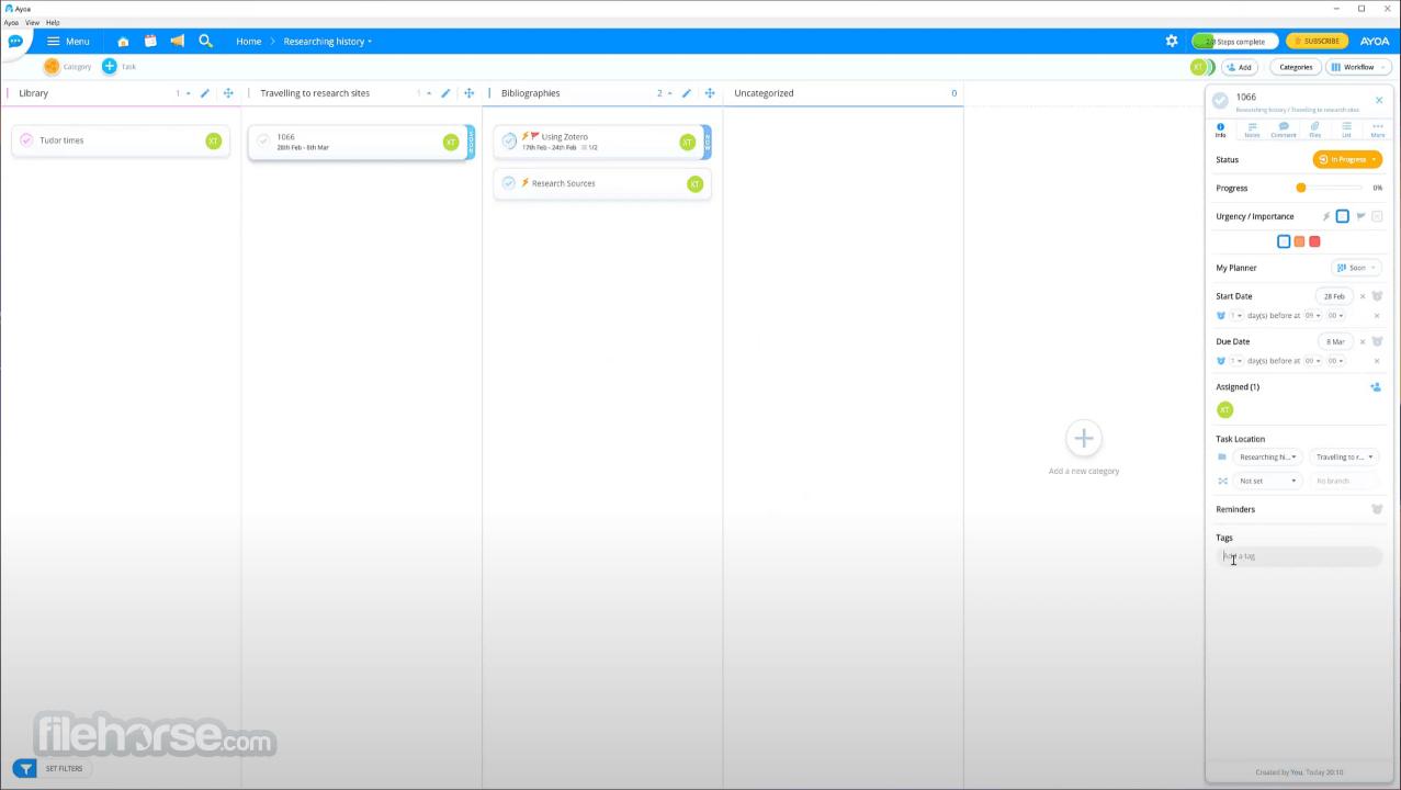 Ayoa 3.36.0 Screenshot 2