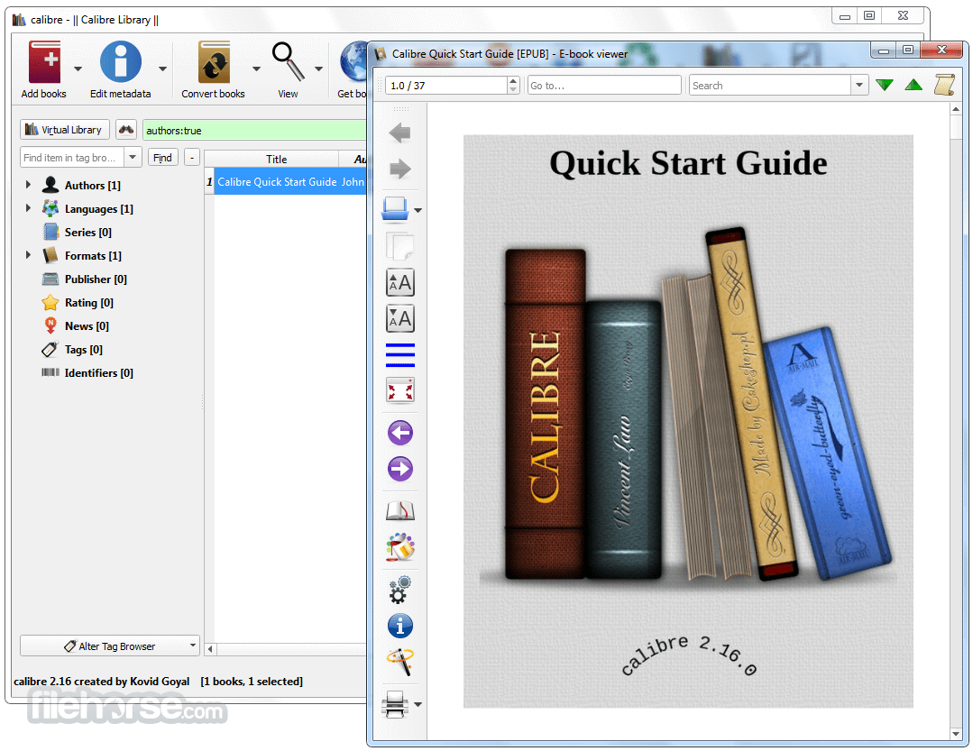 Calibre 3.27.1 (64-bit) Screenshot 2