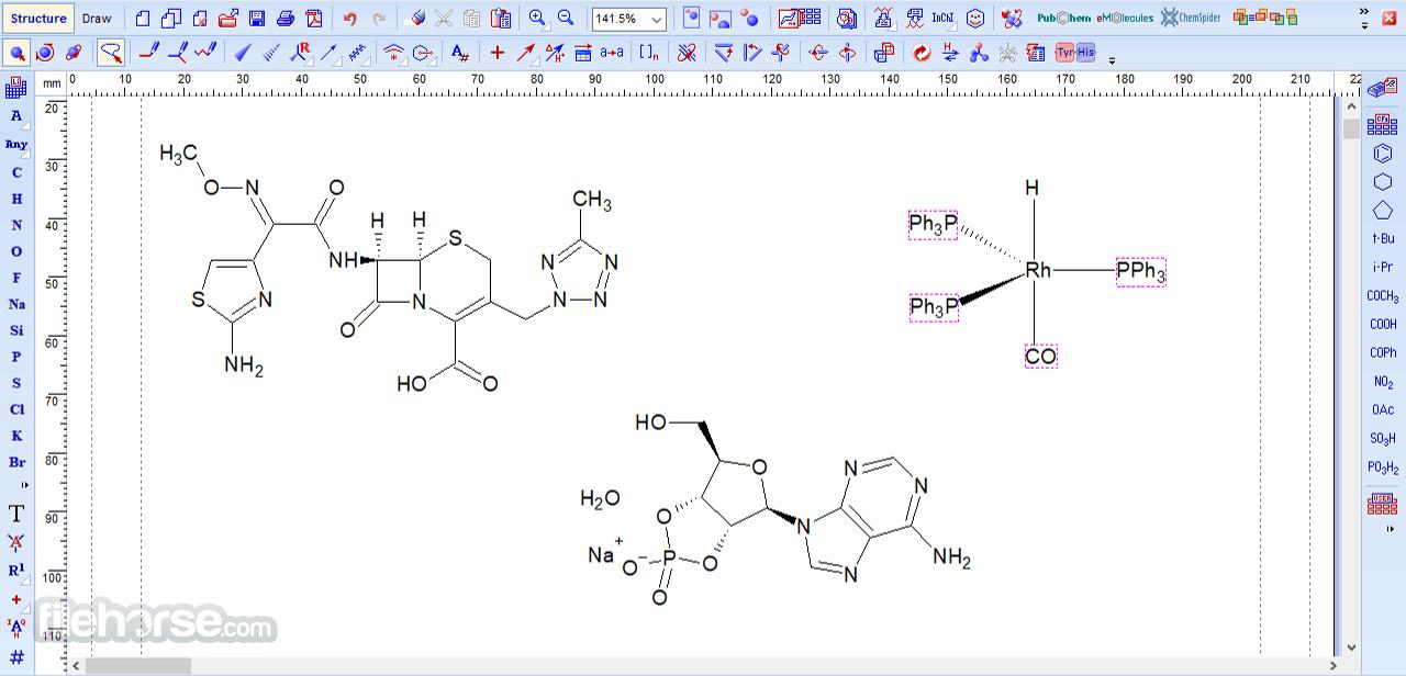 ChemSketch 2021.1.1 Screenshot 1