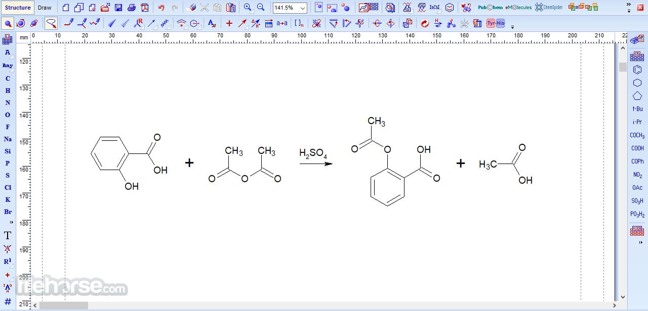 ChemSketch 2021.1.1 Screenshot 2