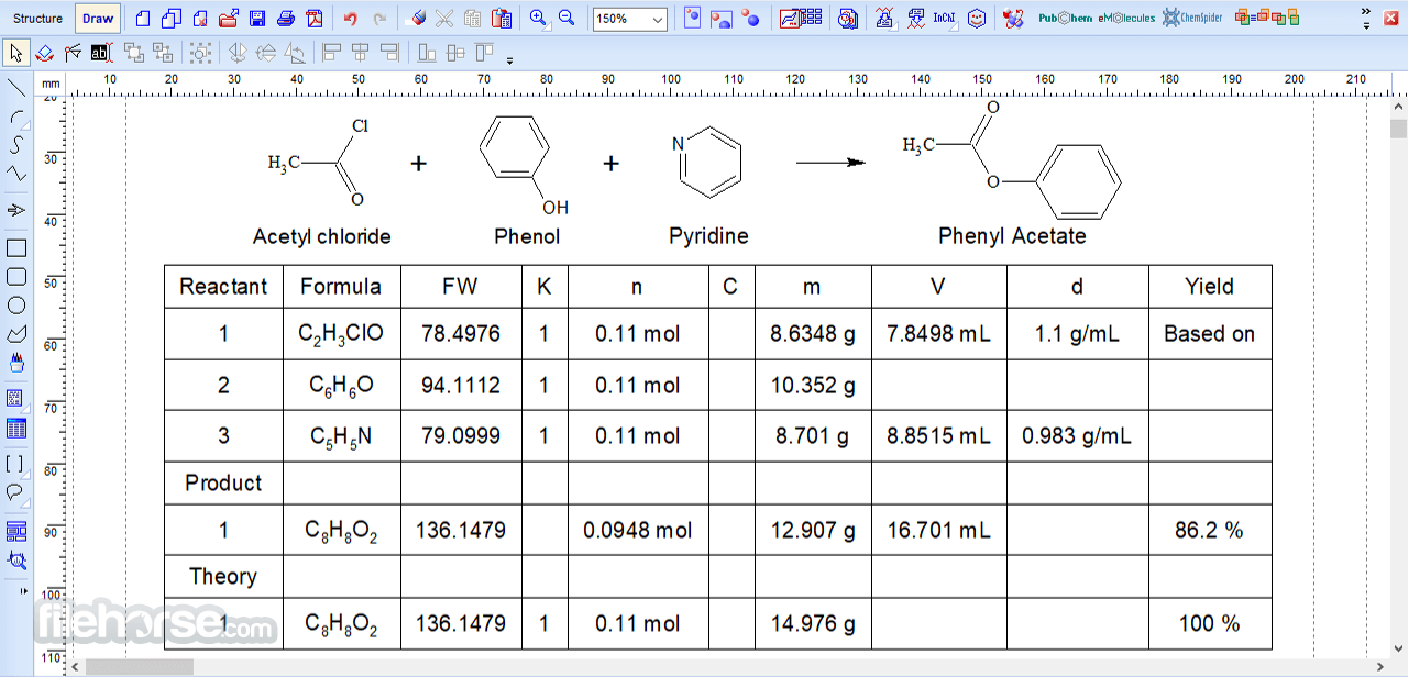ChemSketch 2021.1.1 Screenshot 4