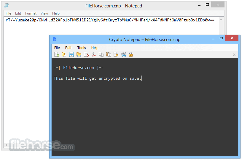 Crypto Notepad 1.1.2 Captura de Pantalla 4