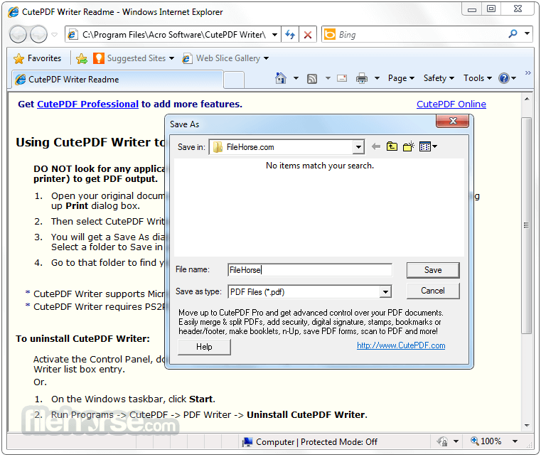 CutePDF Writer Download (2019 Latest) For Windows 10, 8, 7
