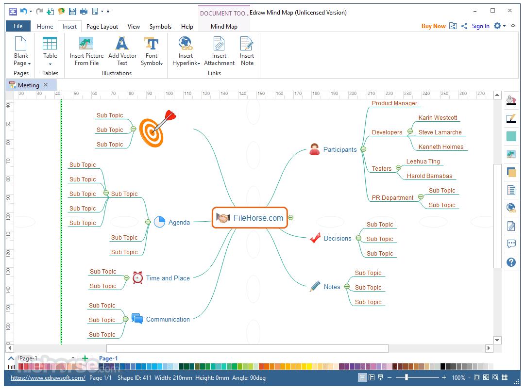 EDraw Mind Map 8.7.5 Captura de Pantalla 2