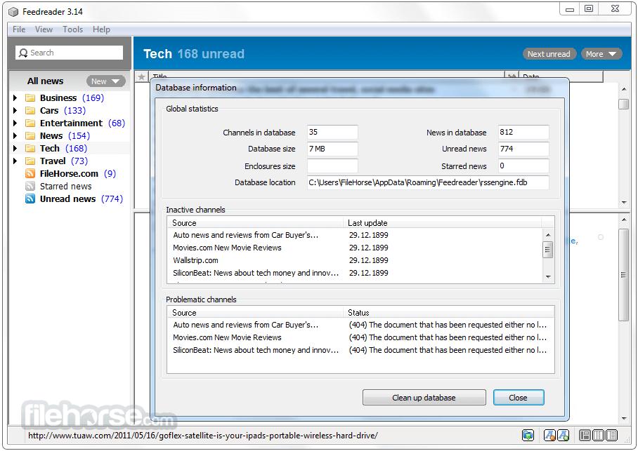 FeedReader 3.14 Screenshot 4