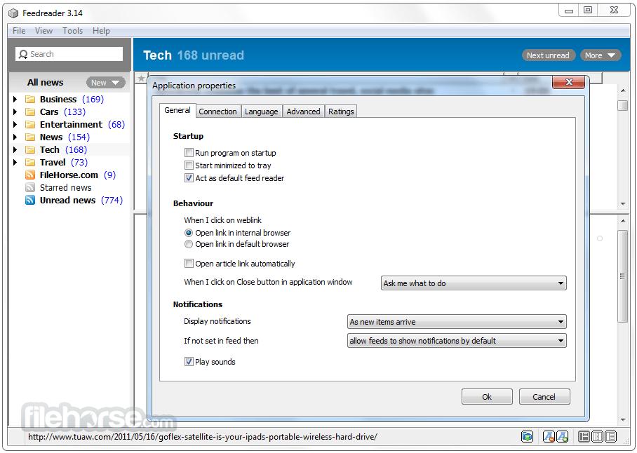 FeedReader 3.14 Screenshot 5