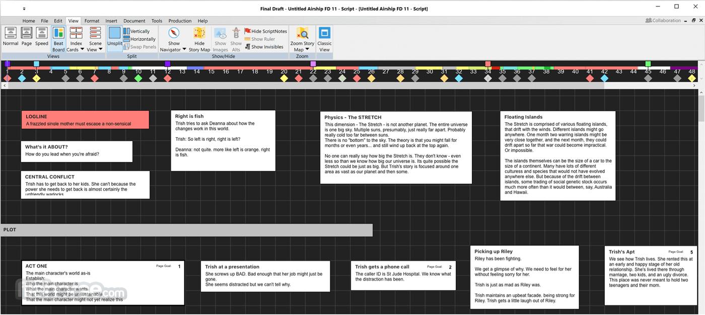 Final Draft 11.1.2 Build 77 Screenshot 1