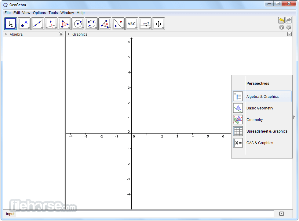 GeoGebra 6.0.417.0 Screenshot 1