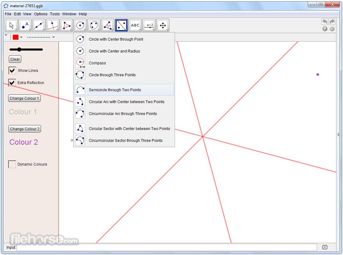 GeoGebra 6.0.417.0 Screenshot 4