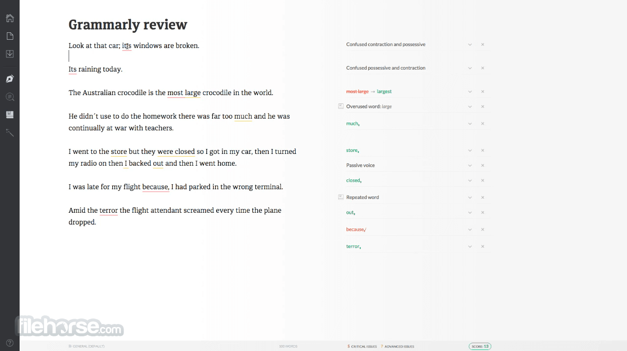 Grammarly 1.5.32 Screenshot 1