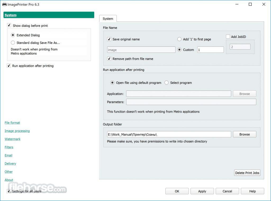 Image Printer 6.3 Screenshot 1
