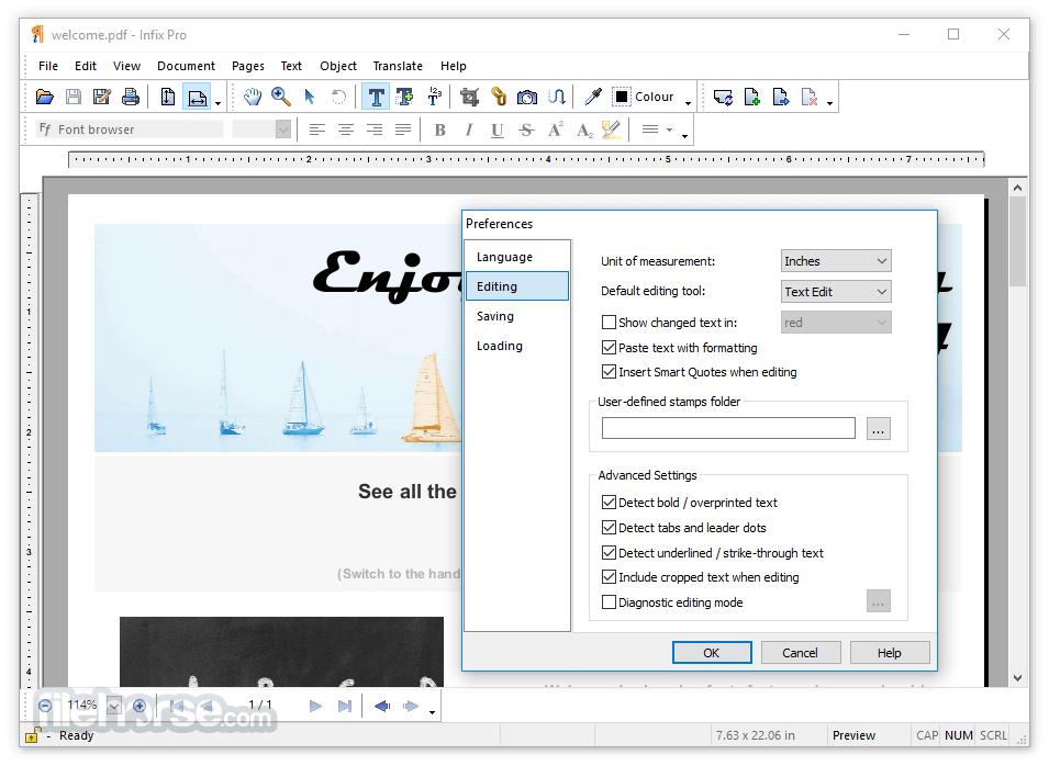 Infix Pro 7.5.2 Captura de Pantalla 3