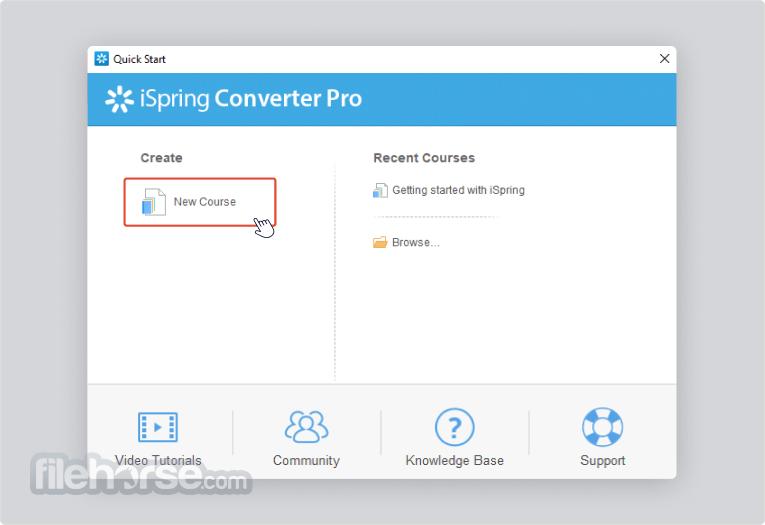 iSpring Converter Pro 10.2.0 Screenshot 1