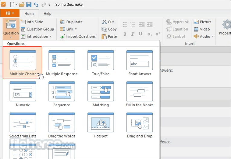 iSpring QuizMaker 9.7.0 Screenshot 3