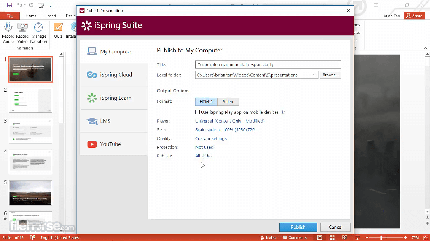 iSpring Suite 9.7.10 Screenshot 5