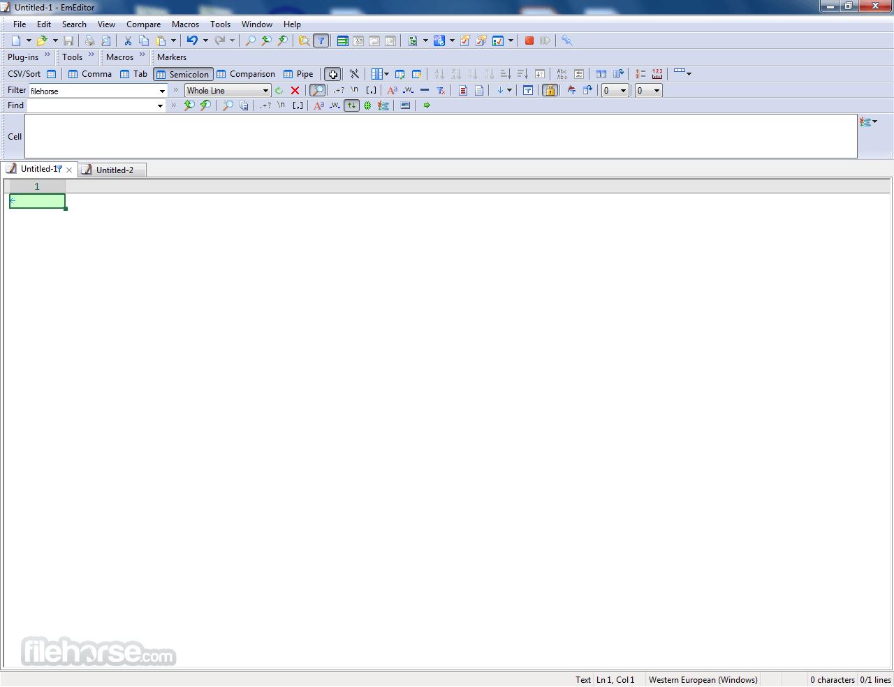 Large Text File Viewer Captura de Pantalla 2