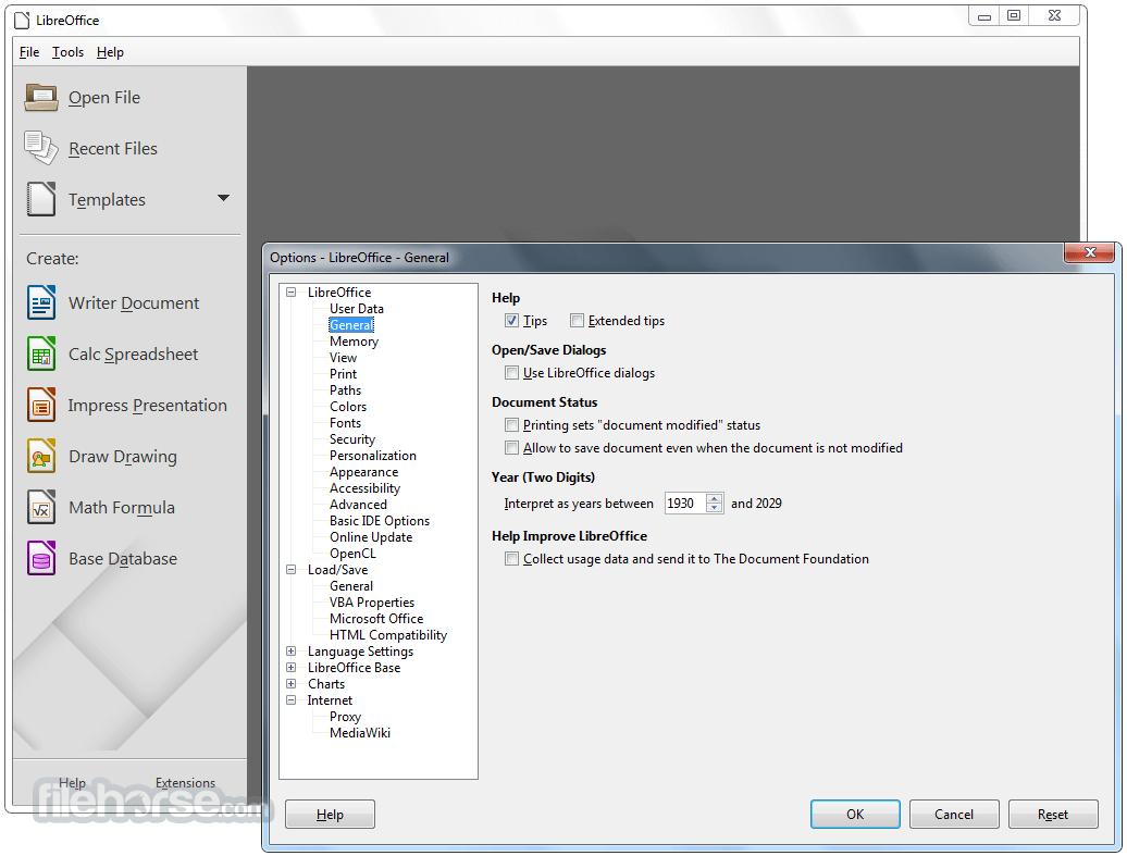 LibreOffice 5.4.1 (32-bit) Screenshot 5