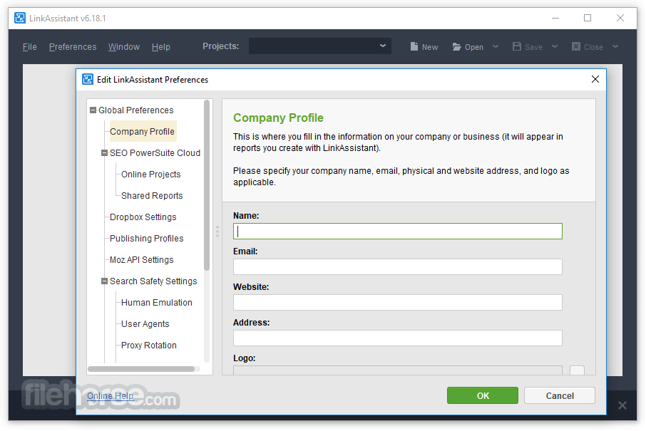 LinkAssistant 6.37.7 Screenshot 3