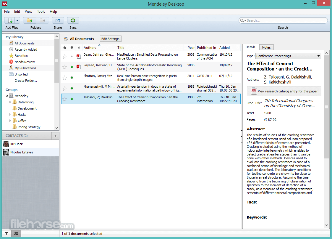 mendeley download