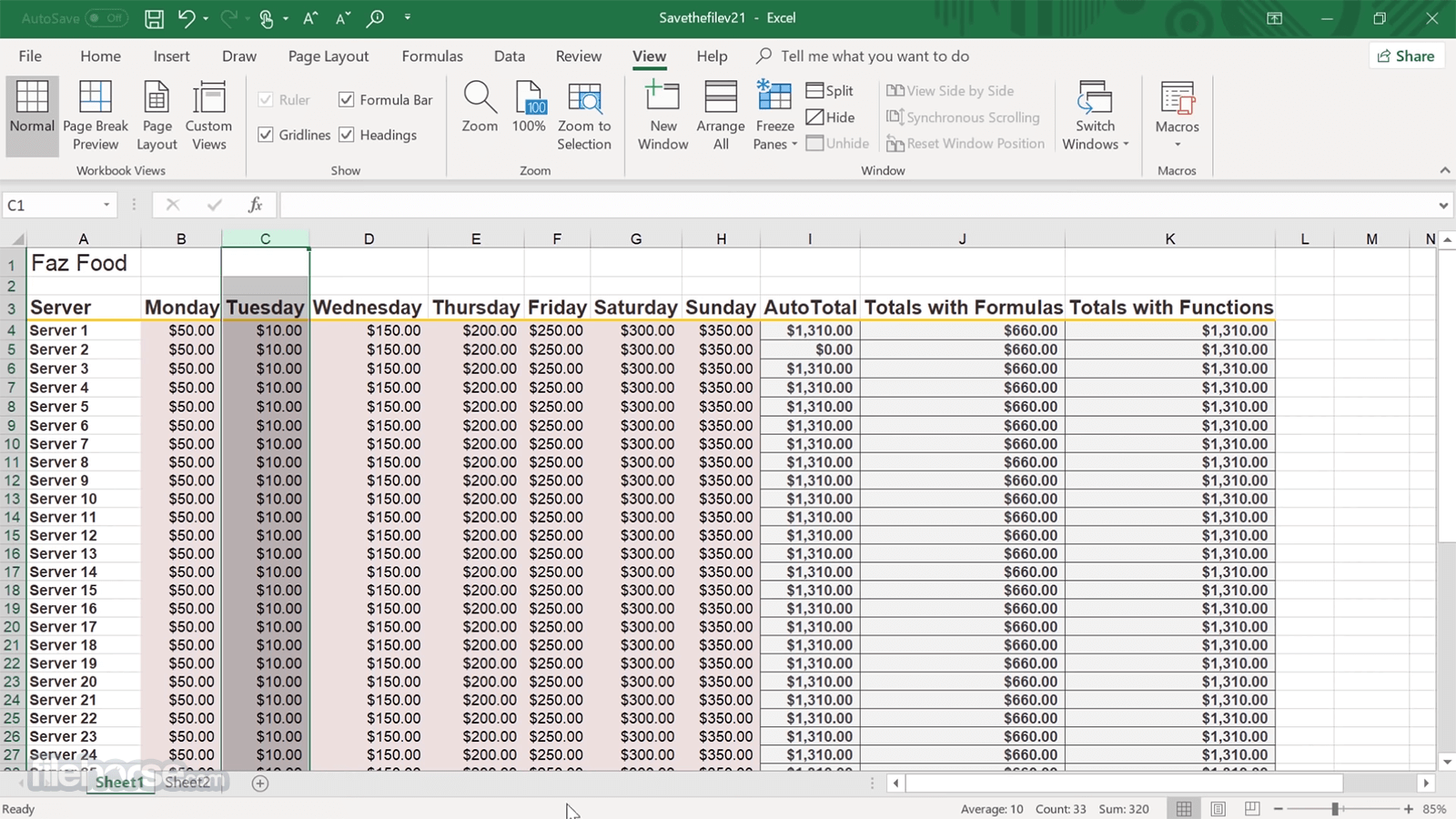 Microsoft Excel Download (2019 Latest) for Windows 10, 8, 7