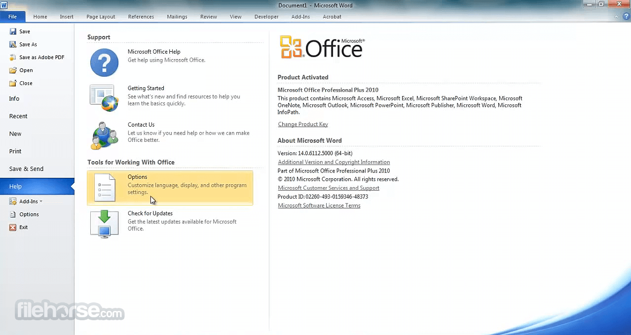 free download microsoft office 2010 for windows 8.1 64 bit