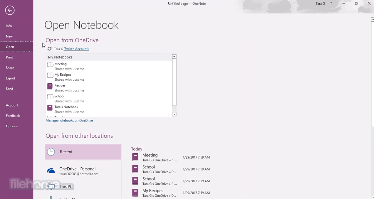 Microsoft OneNote (64-bit) Download (2019 Latest) for Windows 10, 8, 7