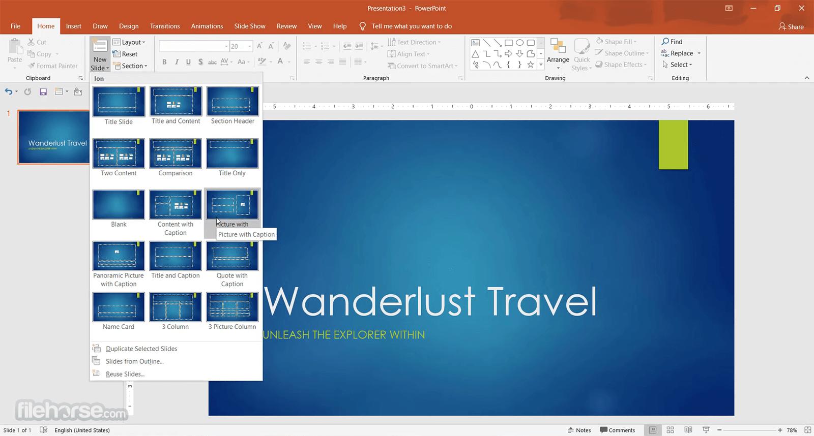 Microsoft PowerPoint 2019 Screenshot 2