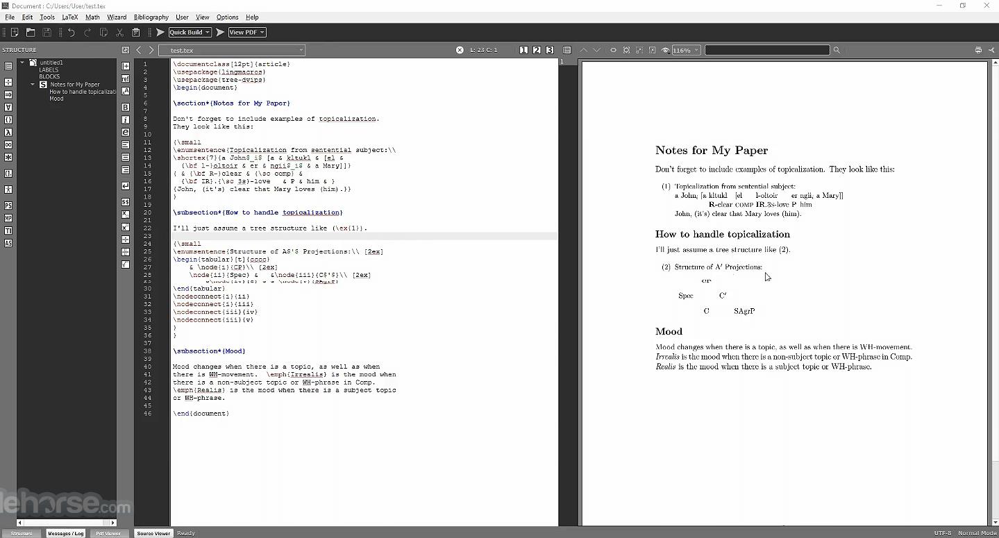 MiKTeX 21.6 Screenshot 2