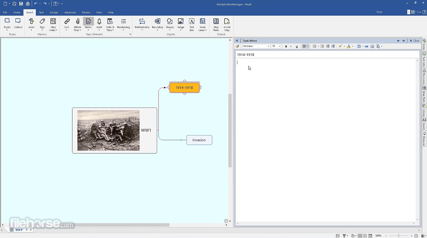 Mindjet MindManager 2021 21.0.261 Screenshot 1