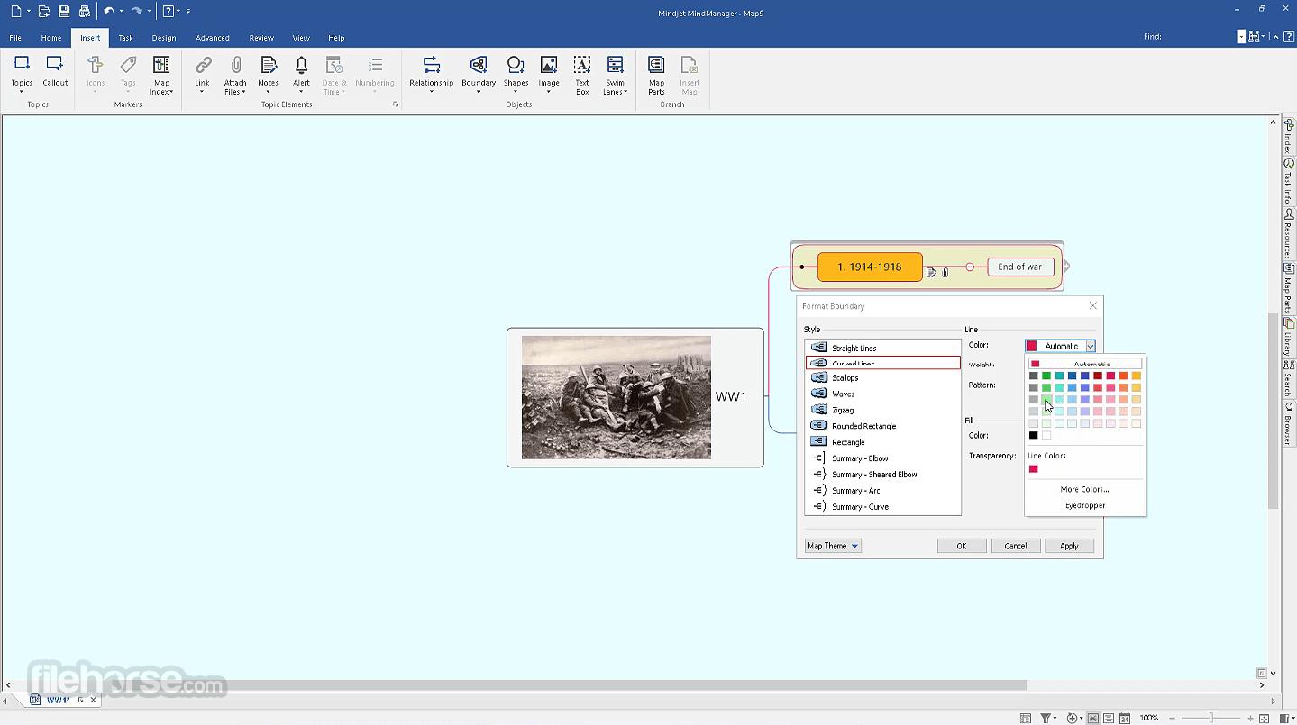Mindjet MindManager 2021 21.0.261 Screenshot 2
